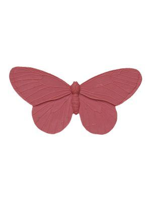 Flamingo brooch butterfly resin color makeup