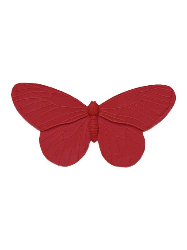 Flamenca brooch resin butterfly red