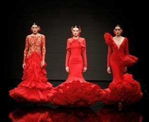 Buscar tendencias para tu traje de flamenca