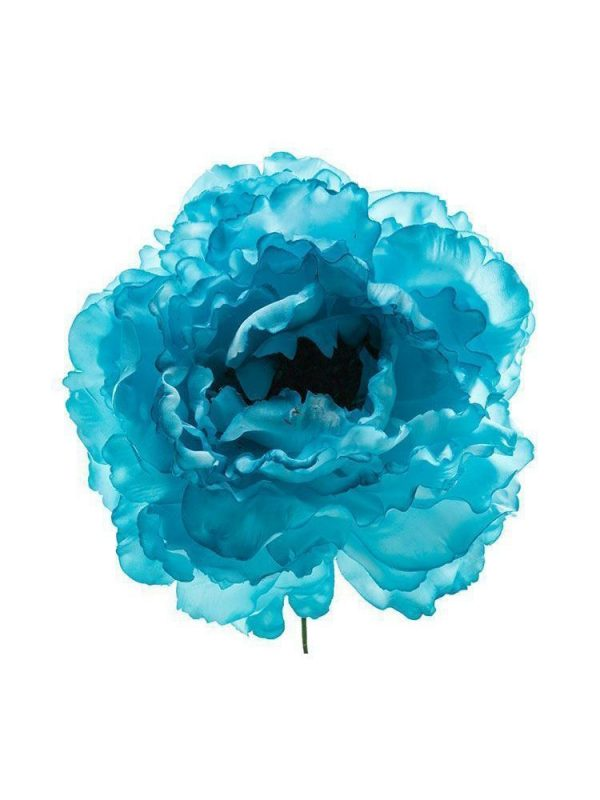 Flor de flamenca aguamarina pastel