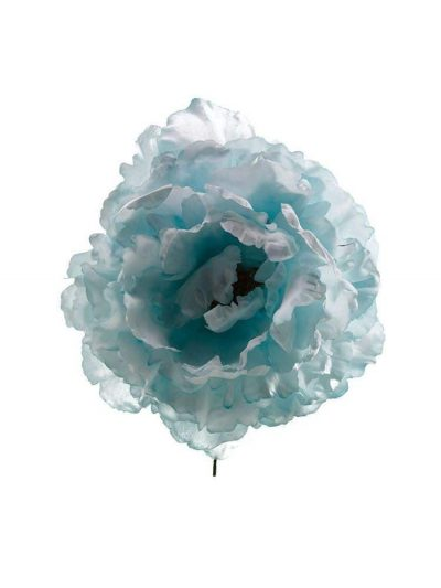 Flor de flamenca agua marina pastel