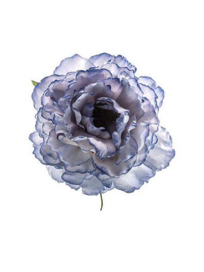 Flor de flamenca azul ducado