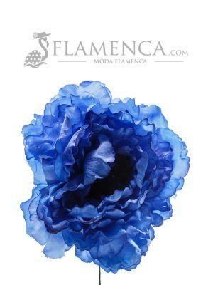 FLOR DE FLAMENCA AZULINA