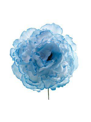 Flor de flamenca celeste