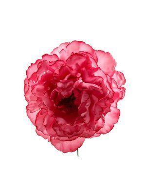 Flor de flamenca fresa