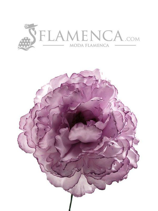 FLOR DE FLAMENCA MALVA
