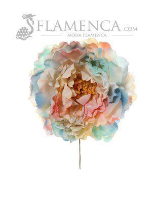 Flor de flamenca multipastel
