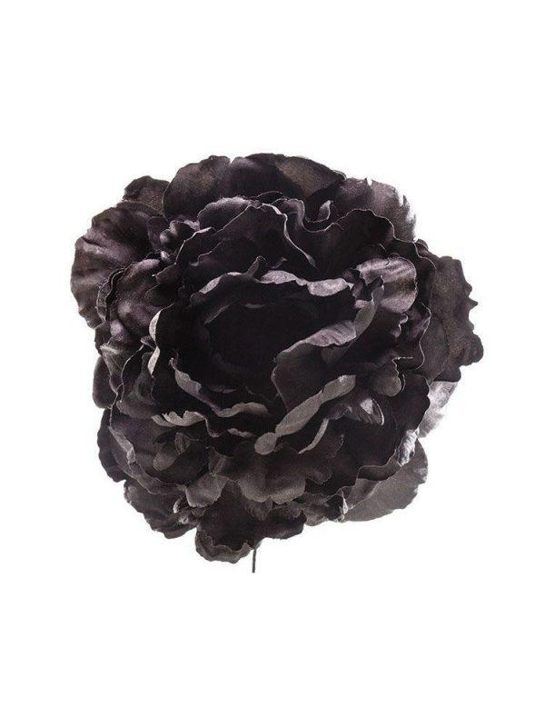 Flor de flamenca negra