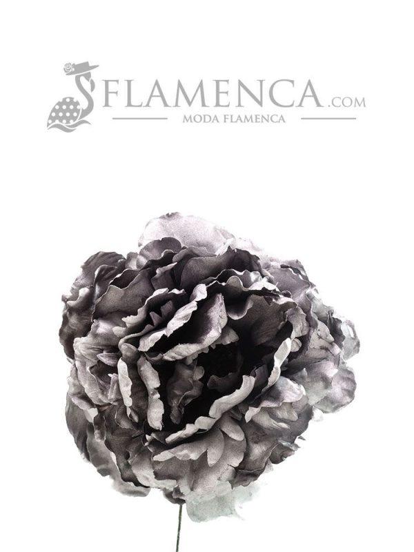FLOR DE FLAMENCA PLATA