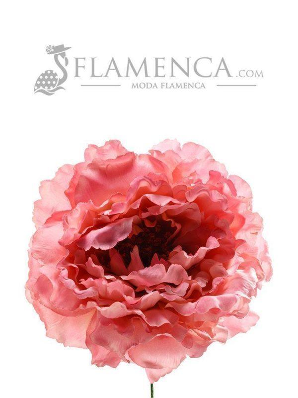 FLOR DE FLAMENCA ROSA PÁLIDO