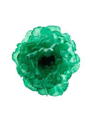 Flor de flamenca verde Andalucía