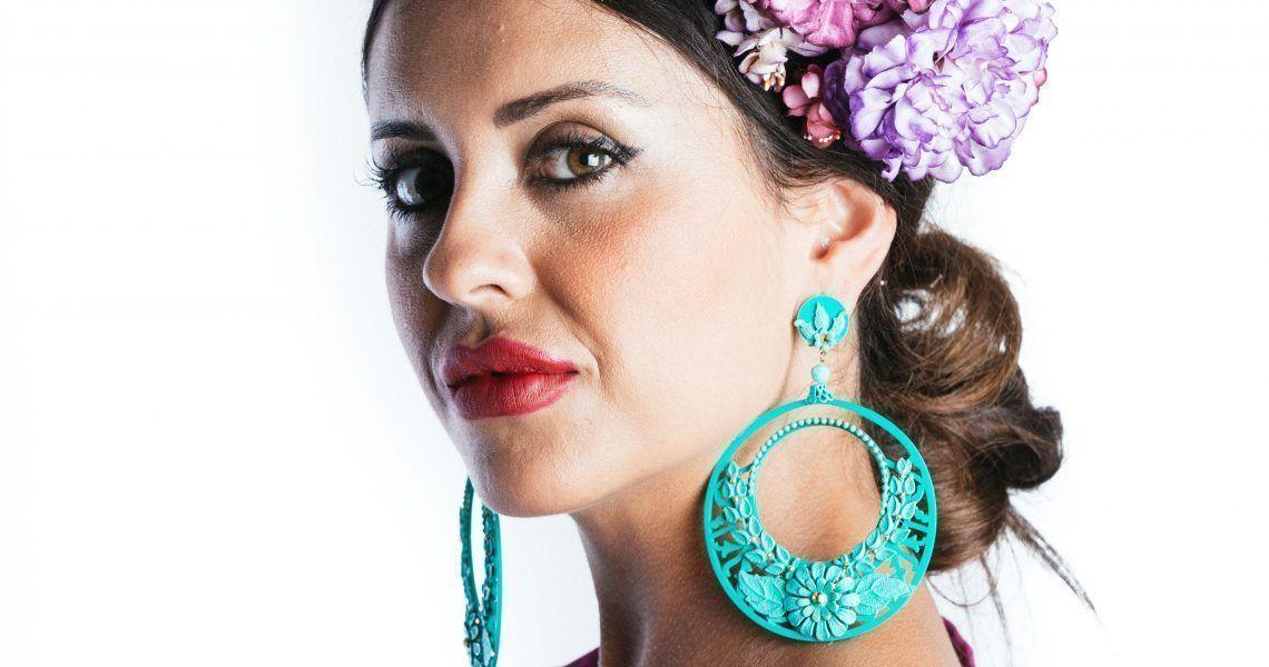 Flores de flamenca: la alegría del color