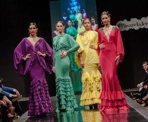 La moda flamenca en las pasarelas