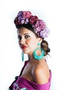 Las flores de flamenca nunca pasan de moda