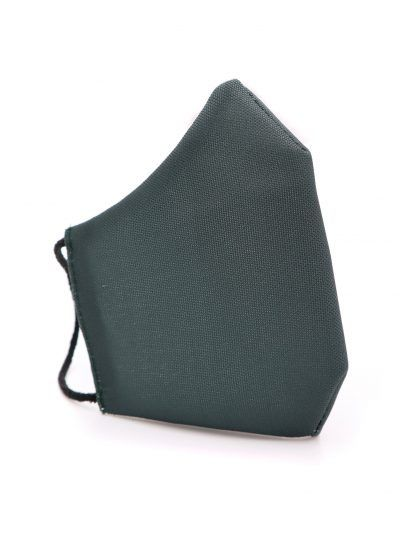 Mascarilla de tela color verde militar