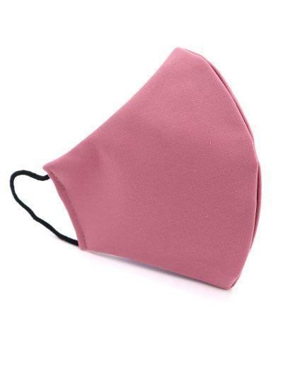 Mascarilla de tela reutilizable rosa