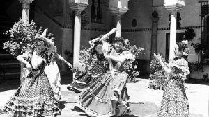 Origen del traje de flamenca