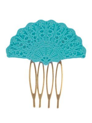 Flamenca comb in marine water resin