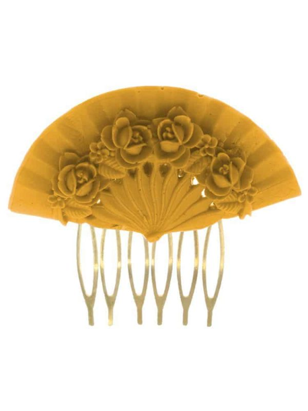Flemish comb floral fan color albero