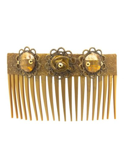 Golden Flamingo Comb