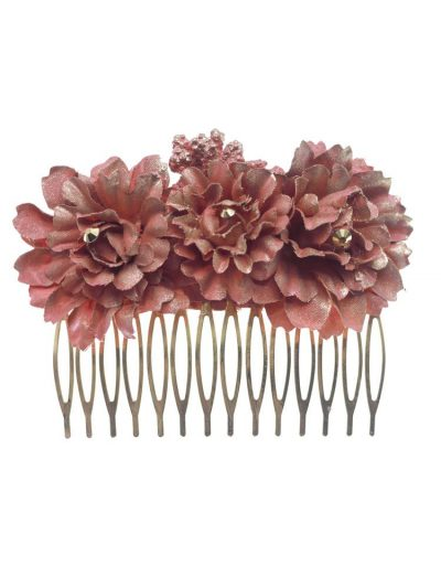 Combs with flowers