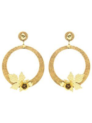 Golden Flamenco Earring