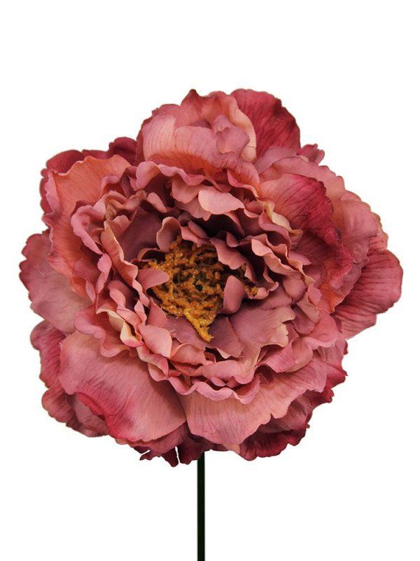 Peonia teñida | Flor de flamenca | Flores de flamenca