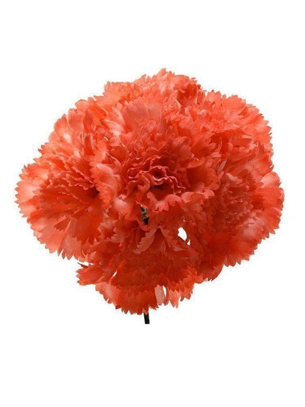 Ramillete de claveles coral