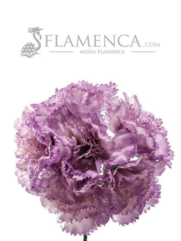 Bouquet of mauve carnations
