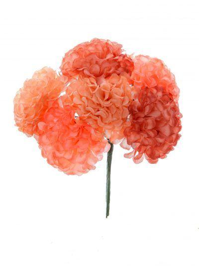 Ramillete de flamenca en tonos rosas
