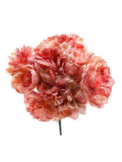Ramillete de flamenca tonos maquillaje