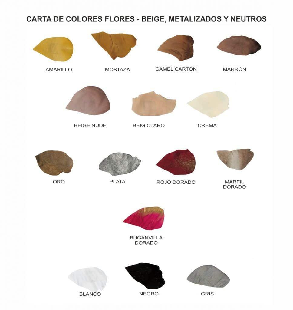 Colorido para ramilletes personalizados