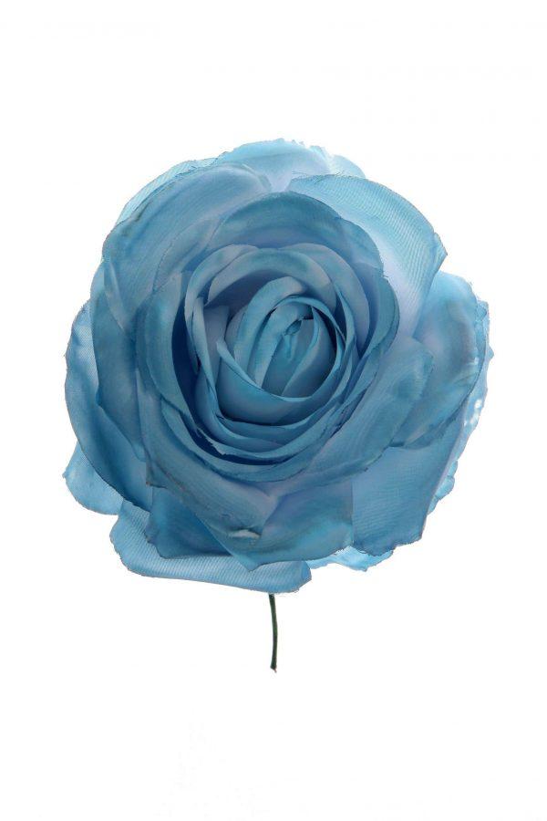 Rosa de flamenca azul ducado