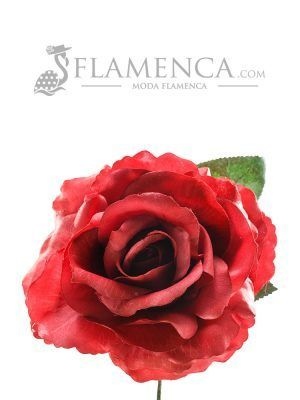ROSA DE FLAMENCA CARMÍN
