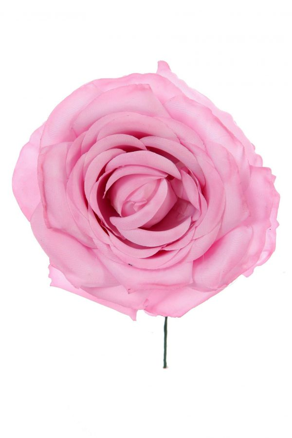 Rosa de flamenca color rosa malva