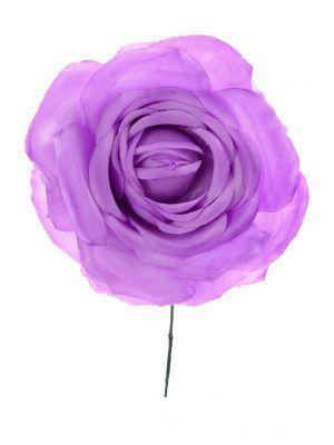 Rosa de flamenca lila