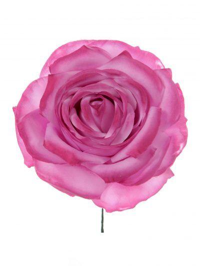 Rosa de flamenca malva antiguo