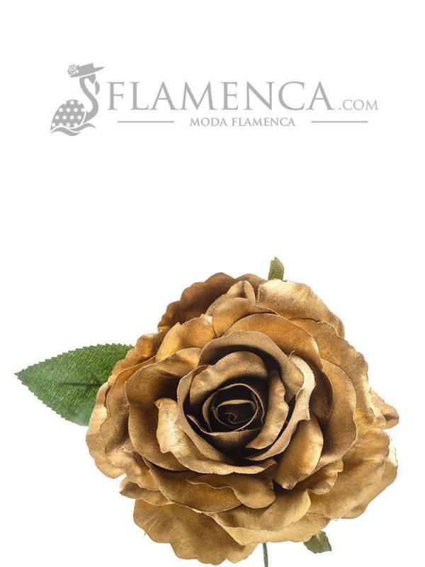 ROSA DE FLAMENCA ORO