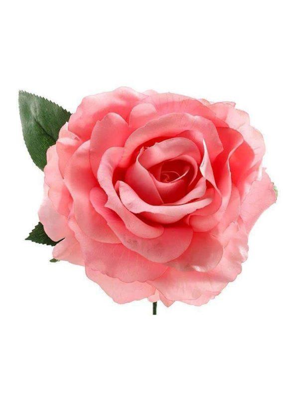 Rosa de flamenca rosa chicle