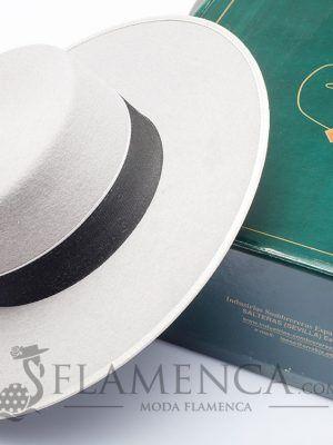Sombrero flamenco cordobés Acero/Plata
