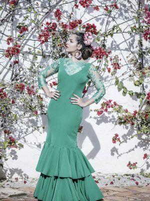 Traje de flamenca Acacia