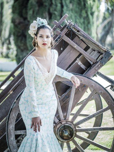 Traje de flamenca Alhelí