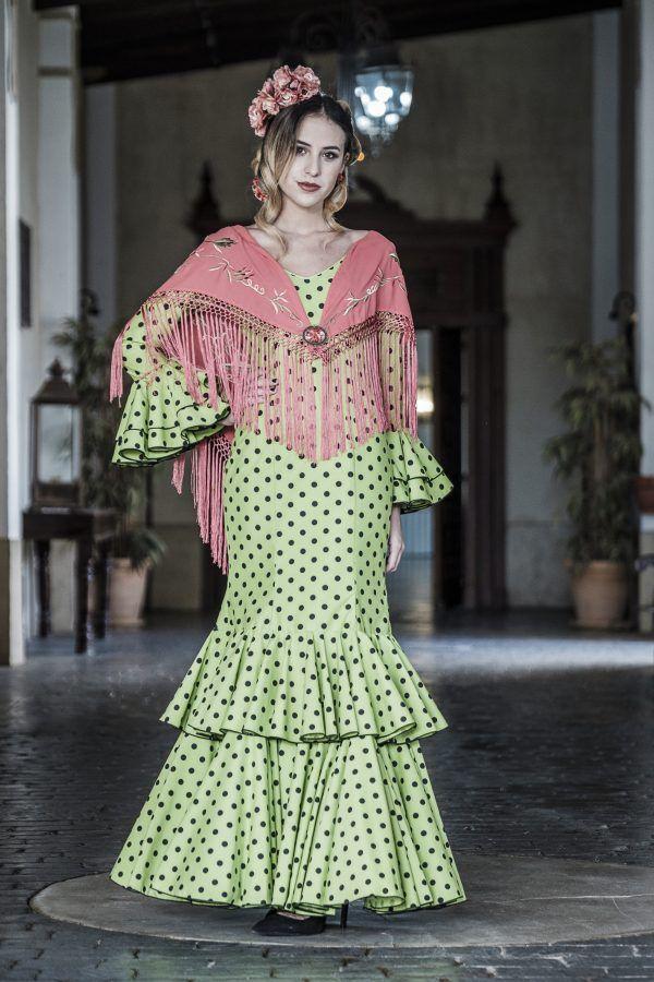 Traje de flamenca Aloe