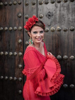 Flamenco dress Amaranta