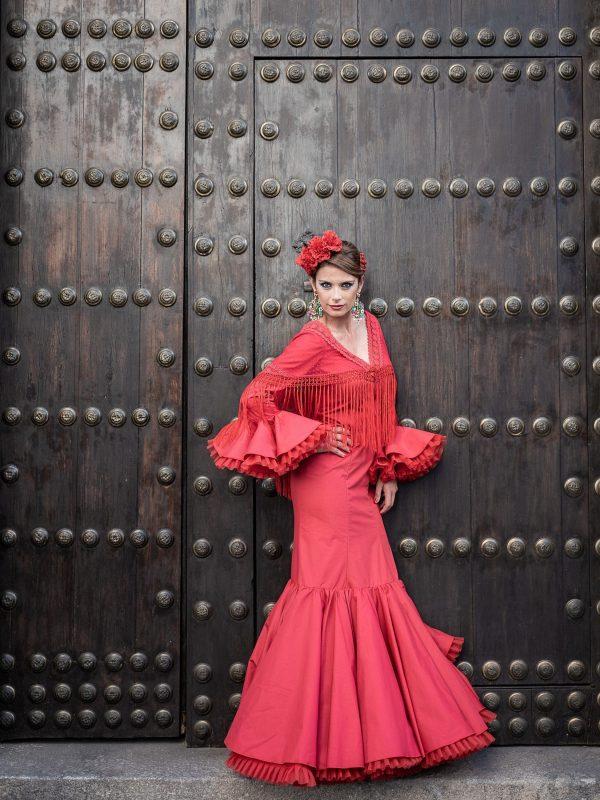 Traje de flamenca Amaranta
