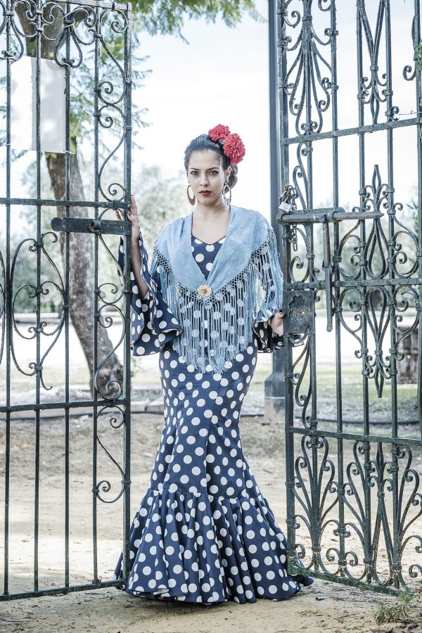 Traje de flamenca Angélica