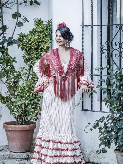 Traje de flamenca Bromelia