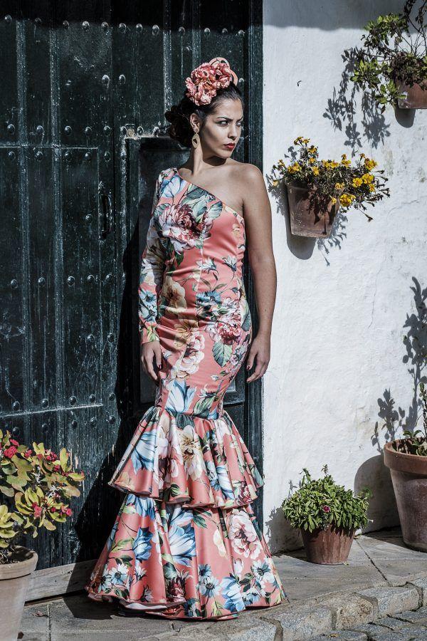 Traje de flamenca Flor