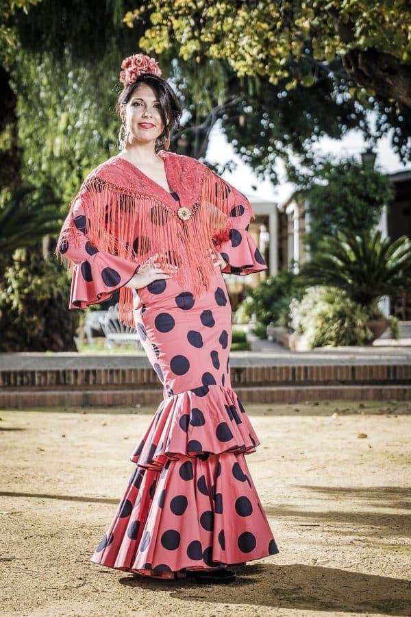 Traje de flamenca Gardenia