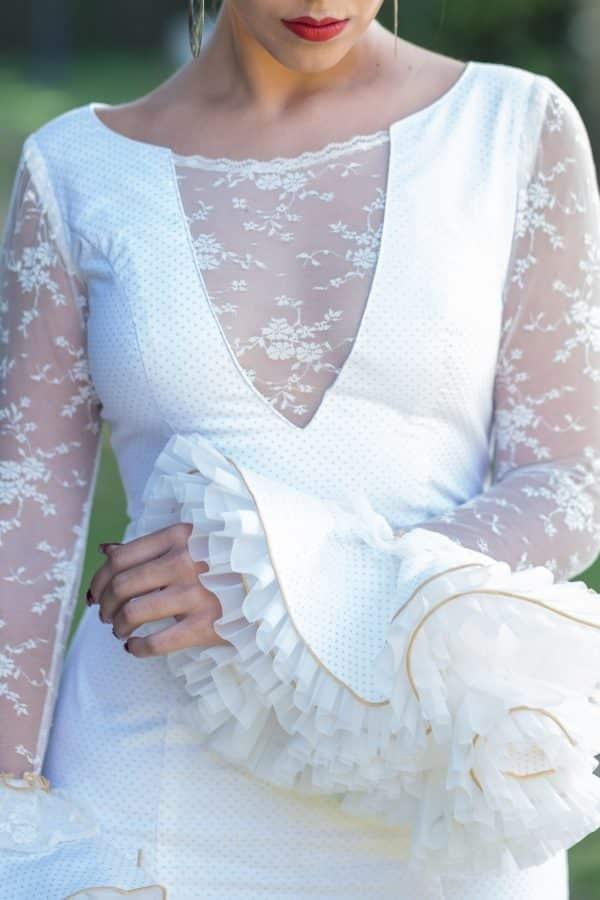 Traje de flamenca Hortensia
